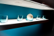 F03 LED exclusive transparent, square lamp