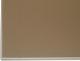 ALU4/2 ajtókeret profil világosbarna (capuccino) üveggel
