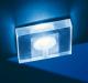 Exkluzív átlátszó, szögletes, fehér fényű LED lámpa