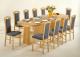 TYP asztalvasalat széthúzott asztalban