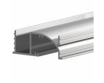 P33 bemarható profil szekrényhez, gardróbhoz (3m/szál)