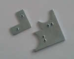 Steel joint for ALU1, ALU3, ALU4 and ALU4/2 aluminium door profiles
