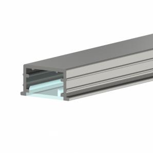P21 Bemarható alumínium profil metacril takaróval