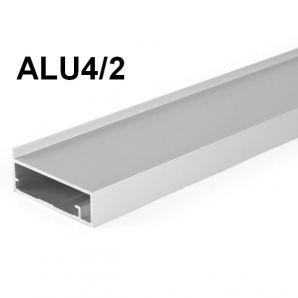 ALU4/2 ajtókeret profil