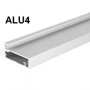 ALU4 alumínium ajtókeret profil