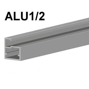 ALU1/2 aluminium door frame profile