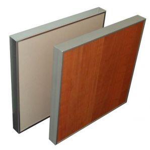 ALU14 worktop profiles for 18 mm furniture doors.