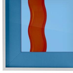 4mm Planibel átlátszó kék üveg