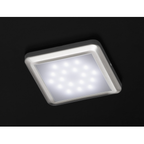 F24 square LED lamp with 18 pieces of white led