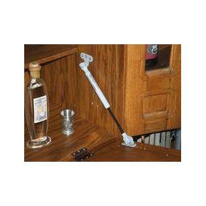 Gasspring cupboard downwards unit