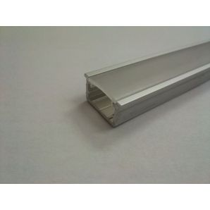 P21 aluminium profile with metacril (embedded profile)