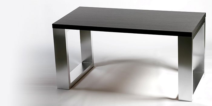 Exclusive aluminium tables